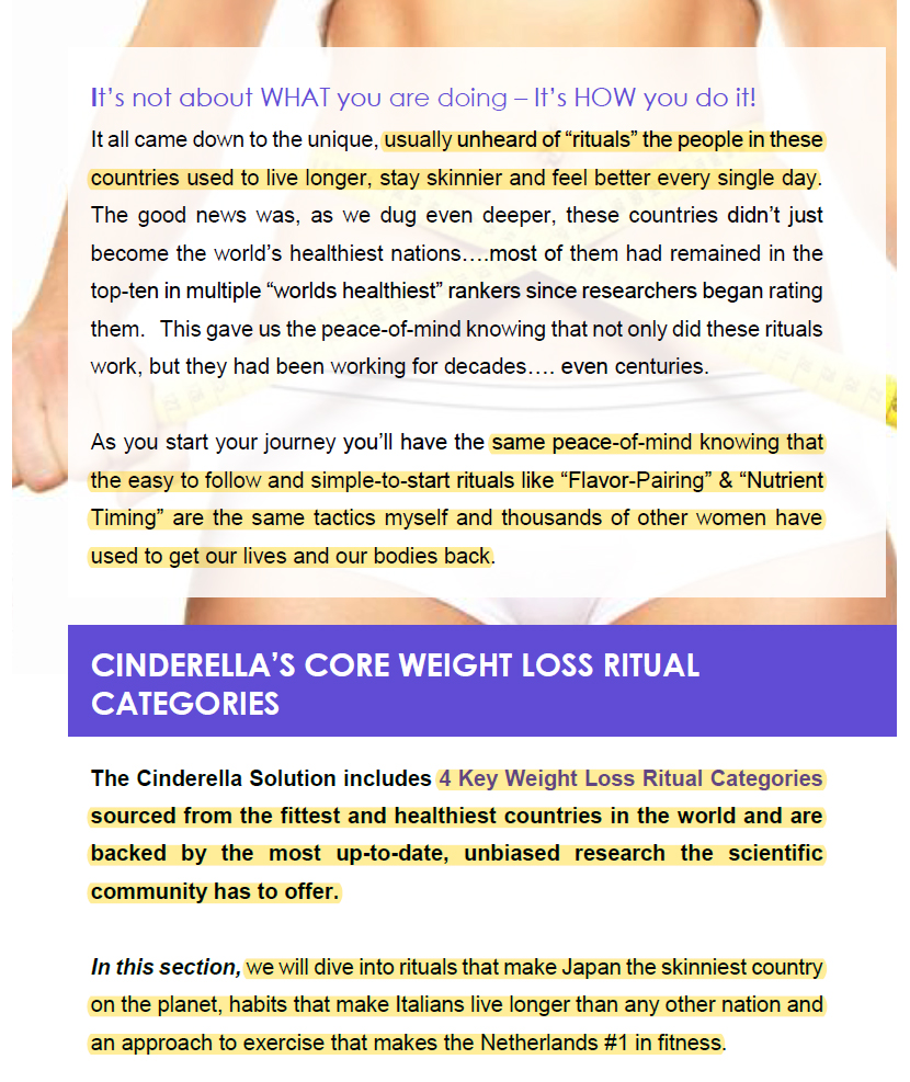 The Cinderella Solution Review (2019): Can It Help You Burn