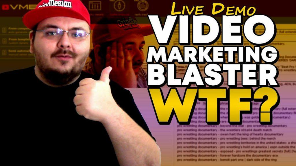 The Video Marketing Blaster Program